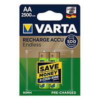 Акумулятор AA 2500mAh Varta Rechargeable Accu Endless NiMh блістер (2 шт)