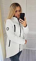 Куртка-парка зима (арт. 300) белая