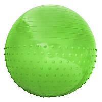 Мяч для фитнеса (фитбол) полумассажный SportVida 65 см Anti-Burst SV-HK0293 Green