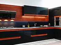 Стильные кухни фото Киев, на заказ - из дерева, мдф, стекло, шпон, дизайн., фото 1
