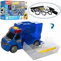 Машинка Поліція з набором для поліцейського, 969-K07