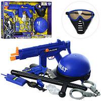 Набір Поліцейського для хлопчика, пістолет зі звуковими ефектами, 33540