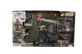 Набір Військового для хлопчика, пістолет зі звуковими ефектами, 33480
