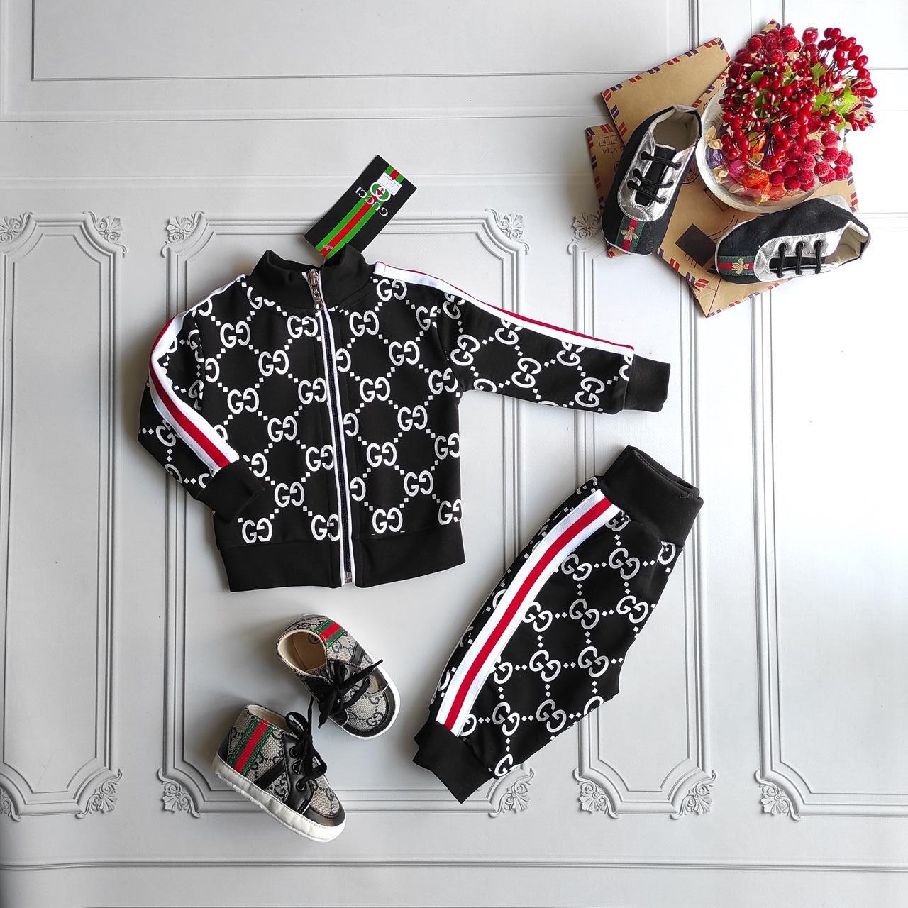 Спортивный костюм Gucci для новорожденных