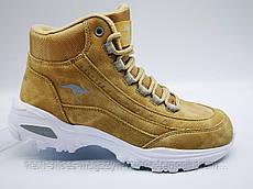 Ботинки унисекс коричнивые Kangaroos США демисезонные арт 391720001009 модель 4827