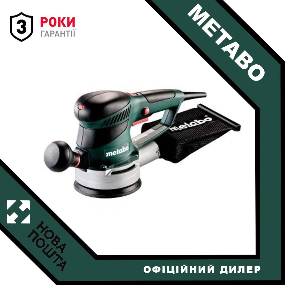 Эксцентриковая шлифмашина Metabo SXE 425 TurboTec (600131000)