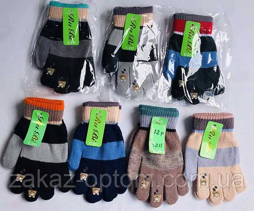 Перчатки детские оптом(2-3года)Китай С-201-63277, фото 2