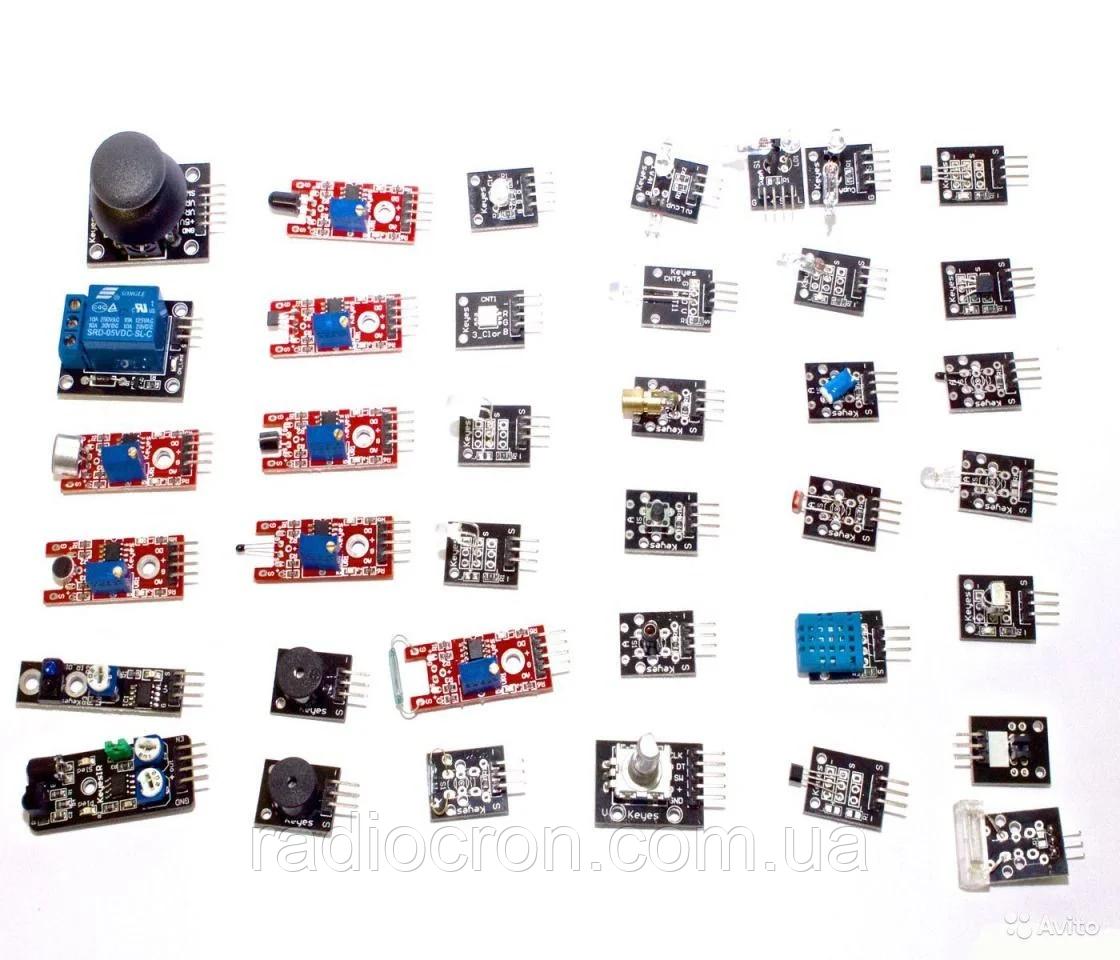 Набор датчиков для Arduino 37 шт