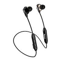 Навушники вакуумні безпровідні з мікрофоном Baseus Encok S10 Black
