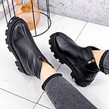 Ботинки женские Elias черные ЗИМА 2421, фото 3