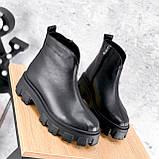 Ботинки женские Elias черные ЗИМА 2421, фото 2