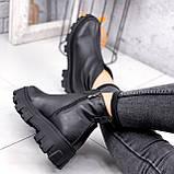 Ботинки женские Elias черные ЗИМА 2421, фото 4