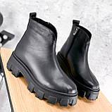 Ботинки женские Elias черные ЗИМА 2421, фото 6