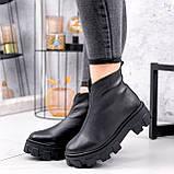 Ботинки женские Elias черные ЗИМА 2421, фото 5