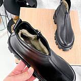 Ботинки женские Elias черные ЗИМА 2421, фото 8