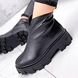 Ботинки женские Elias черные ЗИМА 2421, фото 7