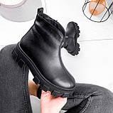 Ботинки женские Elias черные ЗИМА 2421, фото 9