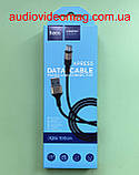 Кабель USB - microUSB, HOCO X26, 2.4 А, тканинне обплетення, довжина 1 метр, фото 3