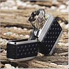 Зажигалка Zippo 200 ZP BRUSH CHROME ZIP GUARD, фото 3