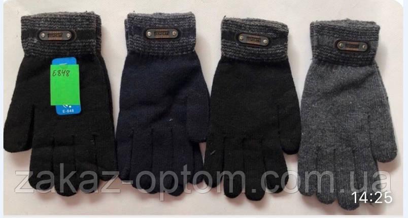 Перчатки мужские оптом Китай Е848-63303, фото 2