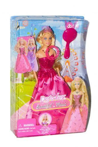 """Музыкальная кукла """"Defa: принцесса"""" (в розовом) 8265"""
