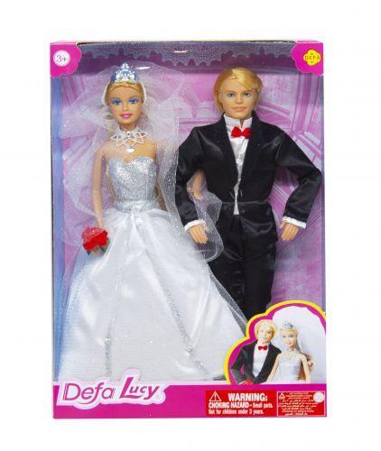 """Кукольный набор """"Defa. Свадьба"""" (белый) 8305"""