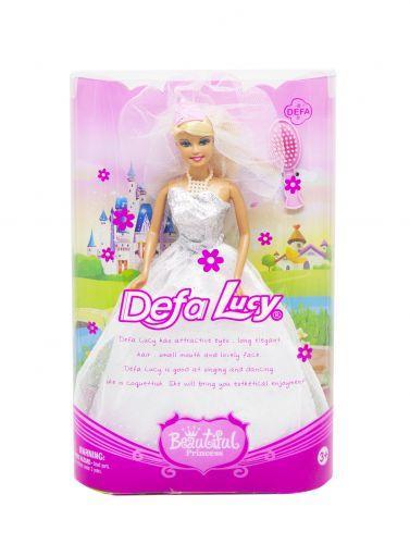 """Кукла """"Невеста"""" ( в белом) 6091"""