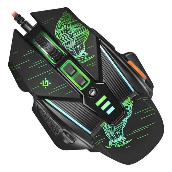 Мишка USB ігрова Defender sTarx GM-390L Black (52390)