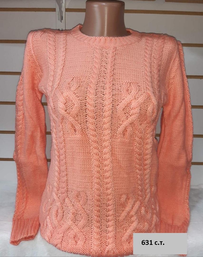 Ніжний жіночий светр 631 с. т.