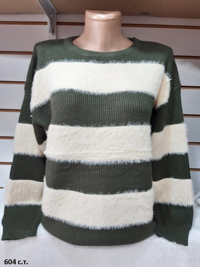 Милый кашемировый женский свитер 604 с.т.