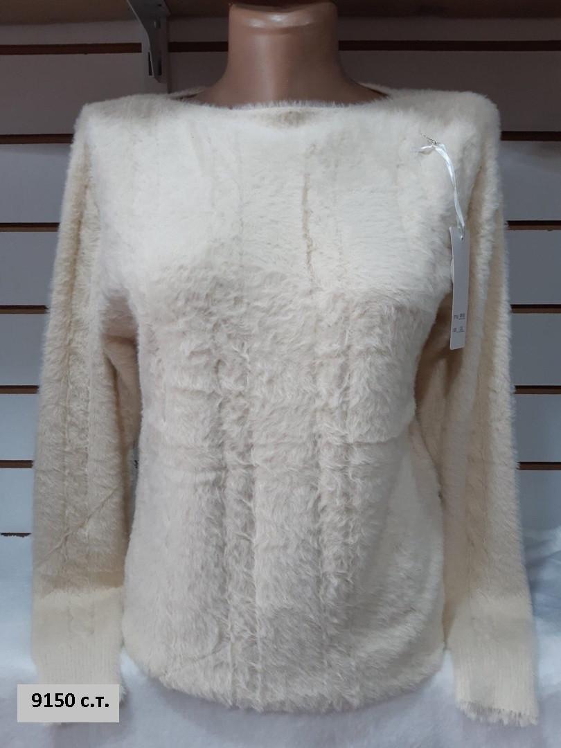 Жіночий кашеміровий светр 9150 с. т.