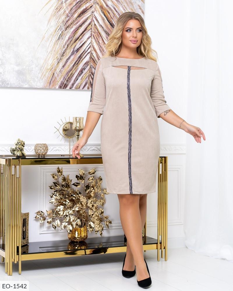 Платье EO-1541 в больших размерах в расцветках
