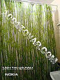 """Шторка для ванной комнаты """"Bamboos"""" (Бамбук), размер 240х200 см., фото 3"""