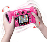Детский фотоаппарат с видео записью, MP3 и наушники. VTech Kidizoom Duo 5.0 Deluxe Digital Selfie Camera, фото 3