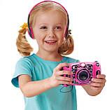 Детский фотоаппарат с видео записью, MP3 и наушники. VTech Kidizoom Duo 5.0 Deluxe Digital Selfie Camera, фото 4
