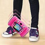 Детский фотоаппарат с видео записью, MP3 и наушники. VTech Kidizoom Duo 5.0 Deluxe Digital Selfie Camera, фото 5