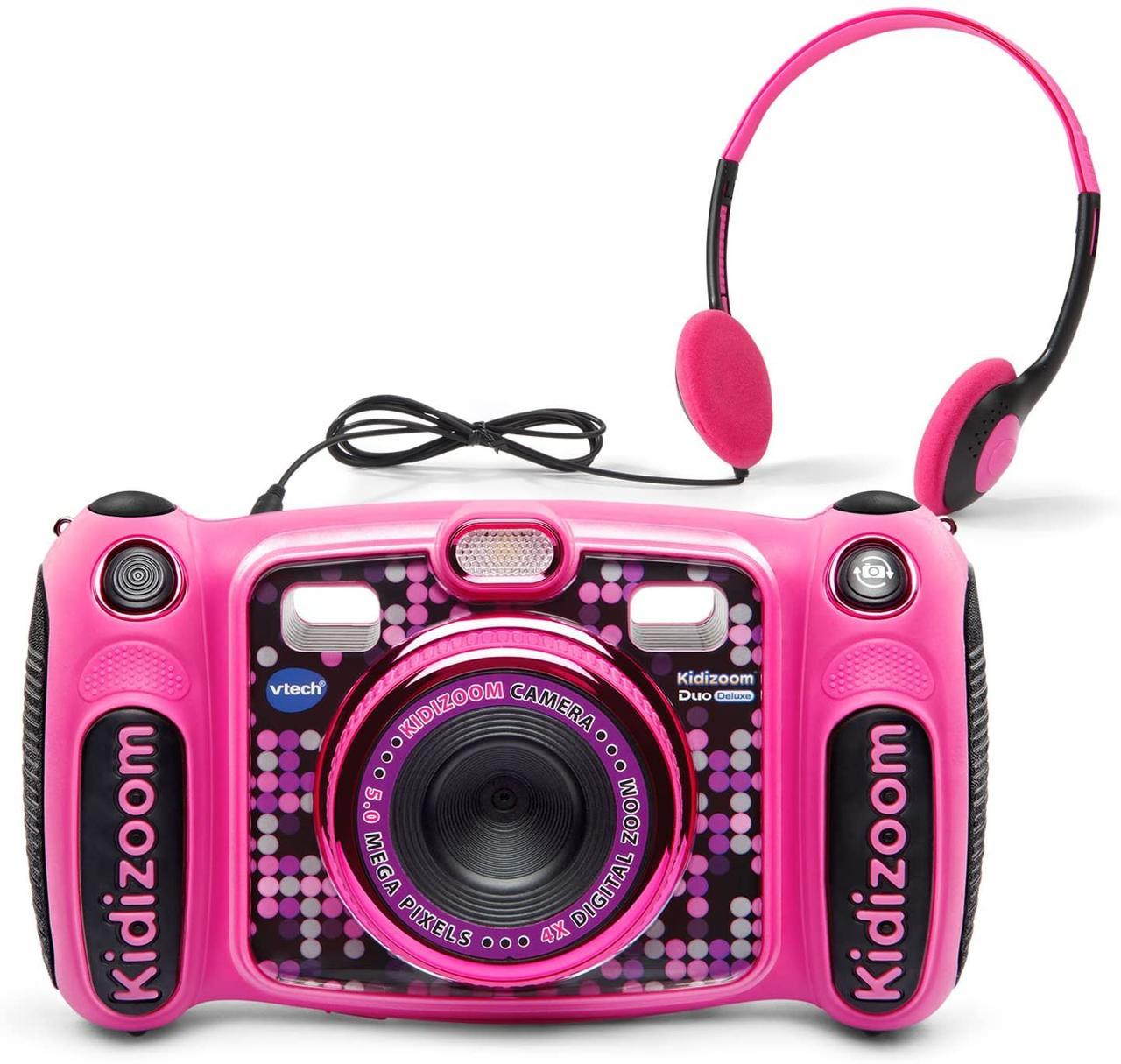 Детский фотоаппарат с видео записью, MP3 и наушники. VTech Kidizoom Duo 5.0 Deluxe Digital Selfie Camera