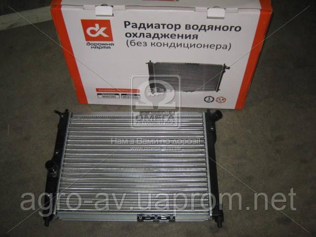 Радиатор вод.охлажд. (96351263) DAEWOO Lanos (без кондиционера)  (ВИДЕО)