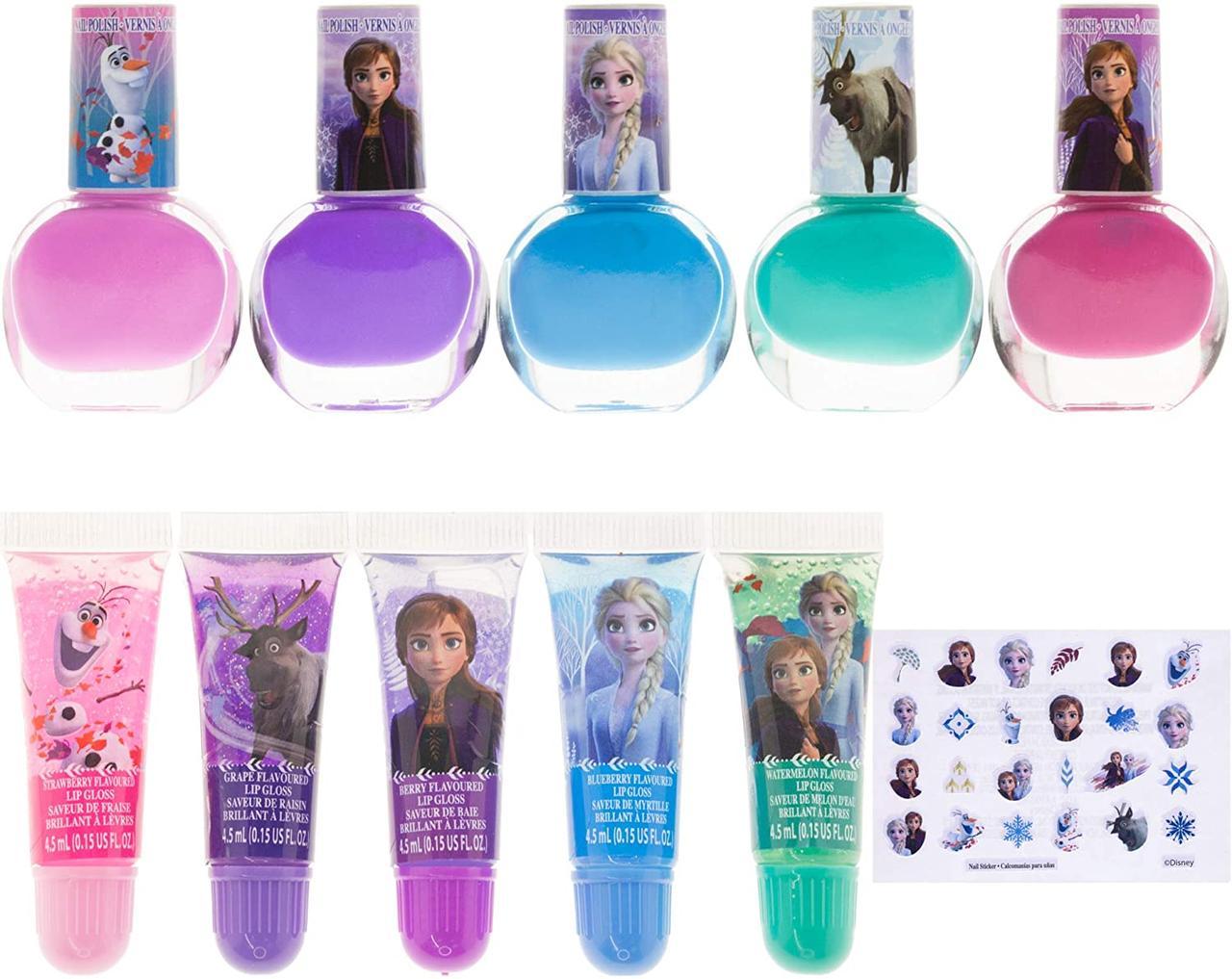 """Подарочный набор косметики для детей с лаками для ногтей """"Холодное сердце"""" Disney's Frozen Cosmetic Set из США"""