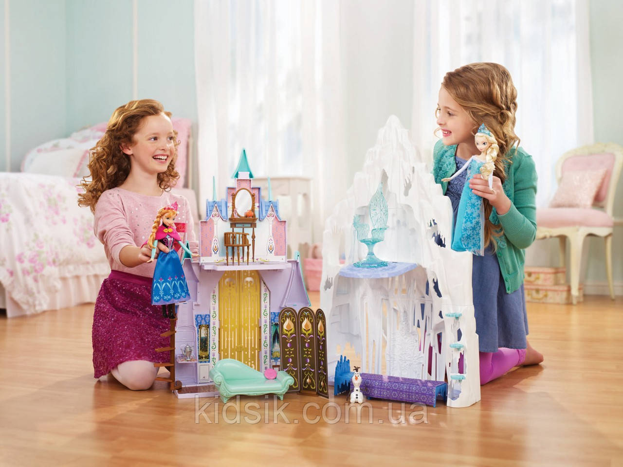 """Игровой набор """"Холодное сердце"""" 2 в 1 - Замок и Ледяной дворец, фото 1"""