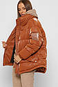 X-Woyz Зимняя женская куртка на экопухе размеры 42- 52, фото 2