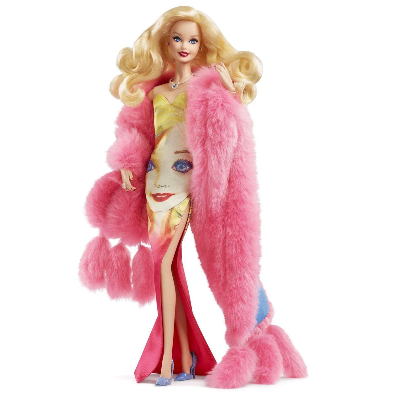 Лялька Барбі Енді Уорхол Andy Warhol Barbie Collector вархол суперстар енді вархол колекційна лялька оригіна