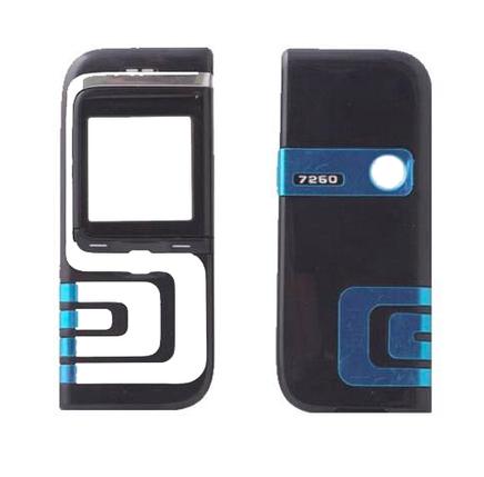 Корпус для Nokia 7260 черный, фото 2