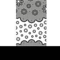 Наклейки №LC057 KODI Nail Art Stickers черные