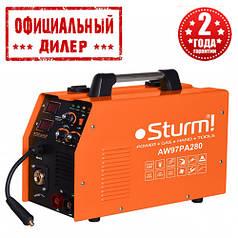 Сварочный инверторный полуавтомат Sturm AW97PA280 (MIG/MAG,MMA, 280А) (6.5 кВт, 280 А)