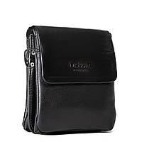 Мужская сумка-планшет Dr.Bond цвет - черный, материал кожзам 15*19*5см (GL 309-0 black)