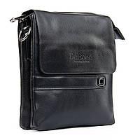 Мужская сумка-планшет Dr.Bond цвет - черный, материал кожзам 17*20*5см (GL 512-1 black)