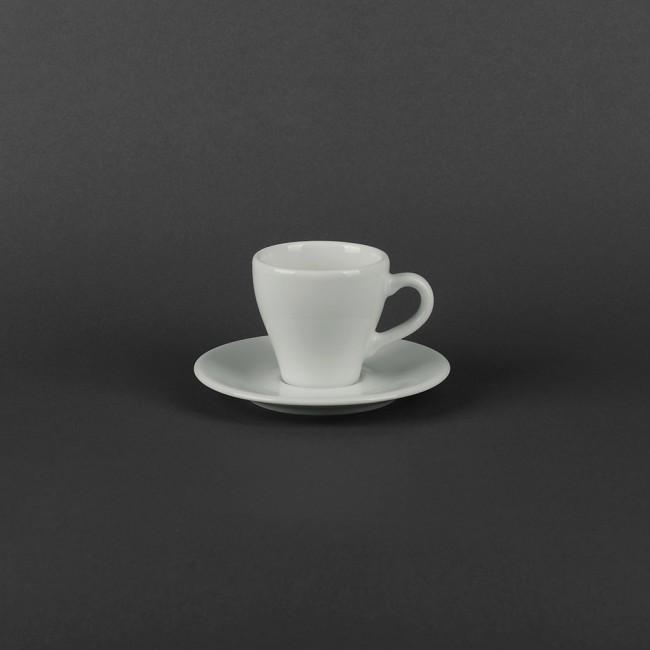 Чашка кавова 70мл з блюдцем Lubiana Паула (1700/1771)