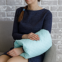 Подушка для кормления на руку, мятная MagBaby