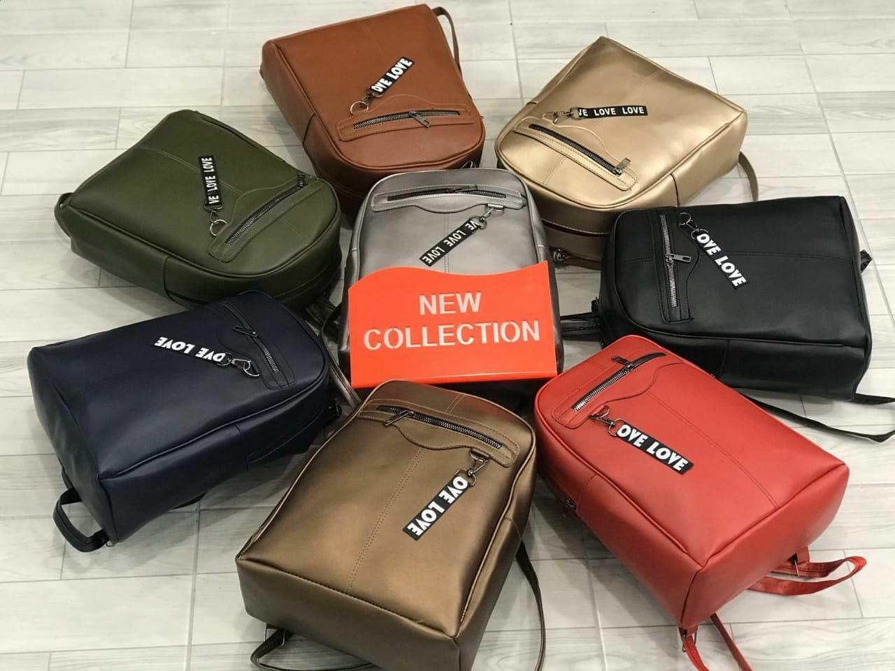 Рюкзак женский кожаный городской модный размер 30 на 25 см (от 3 шт!)